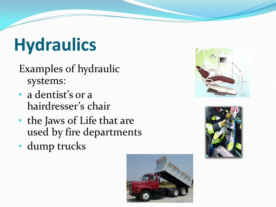 pressure pascal s law ppt video online download rh slideplayer com examples of hydraulic systems that occur in nature examples of hydraulic systems in real life