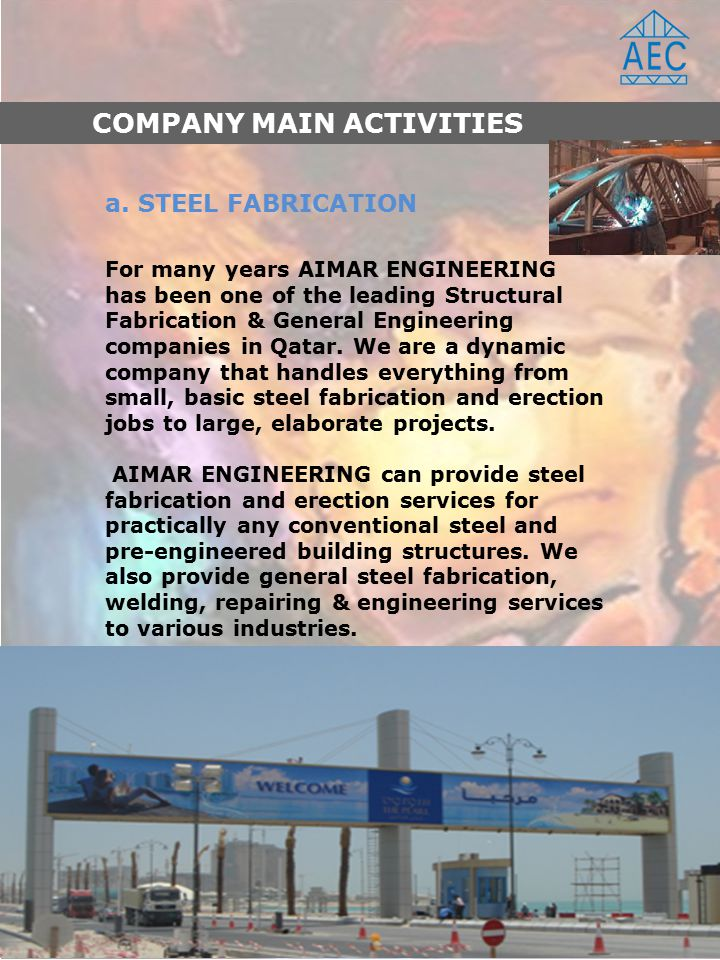 COMPANY PROFILE AIMAR Engineering Constructions  - ppt video