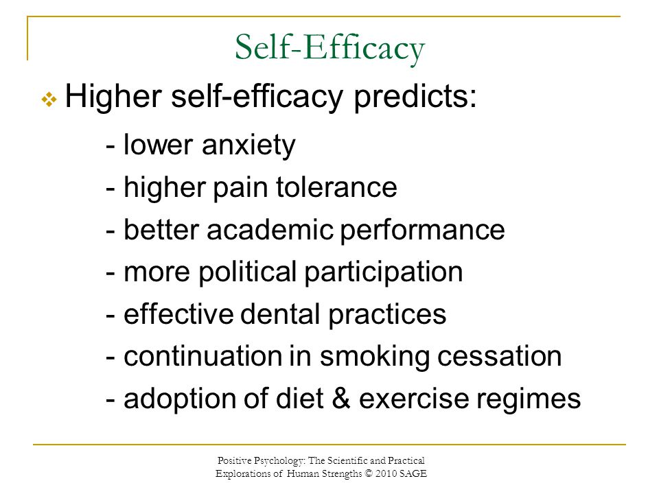 Seeing Our Futures Through Self-Efficacy, Optimism, and Hope