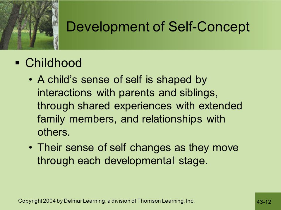 Development of Self-Concept