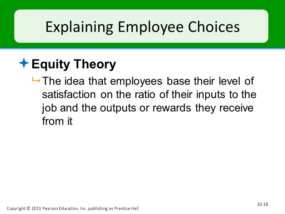Explaining Employee Choices