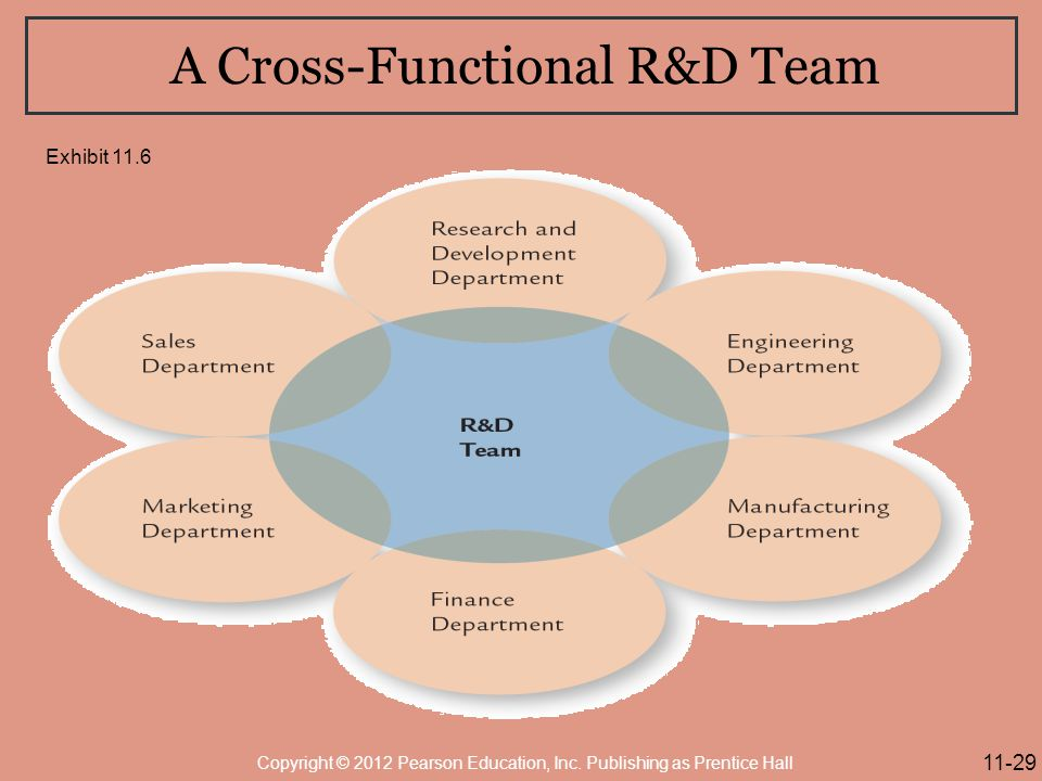 A Cross-Functional R&D Team