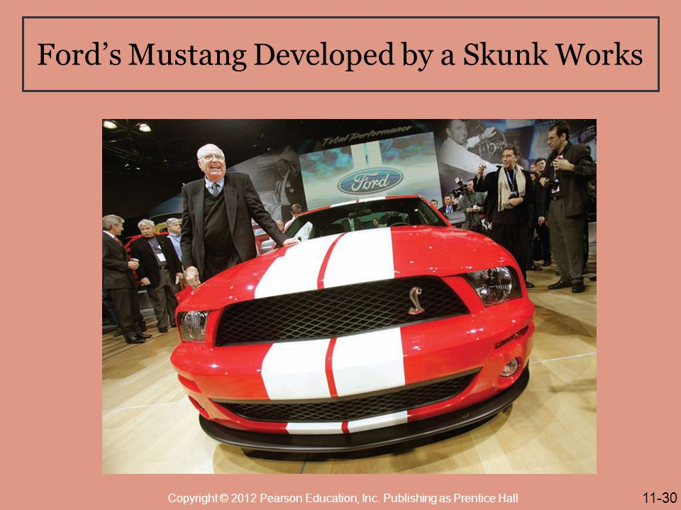 Ford's Mustang Developed by a Skunk Works