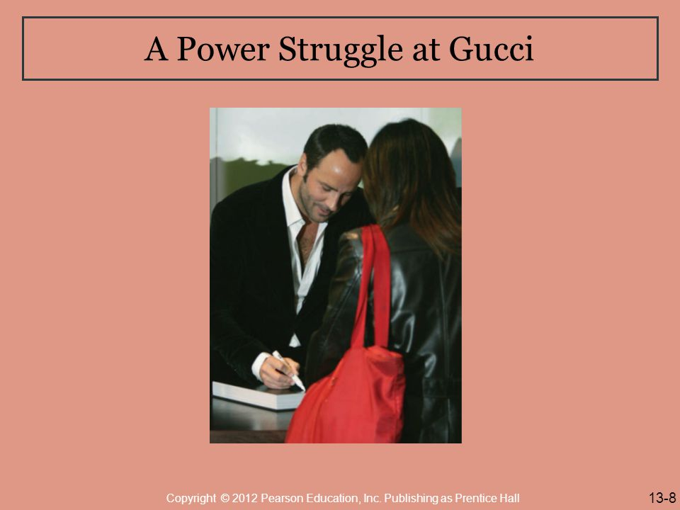 A Power Struggle at Gucci