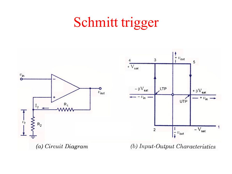 Schmitt Trigger Ppt Video Online Download