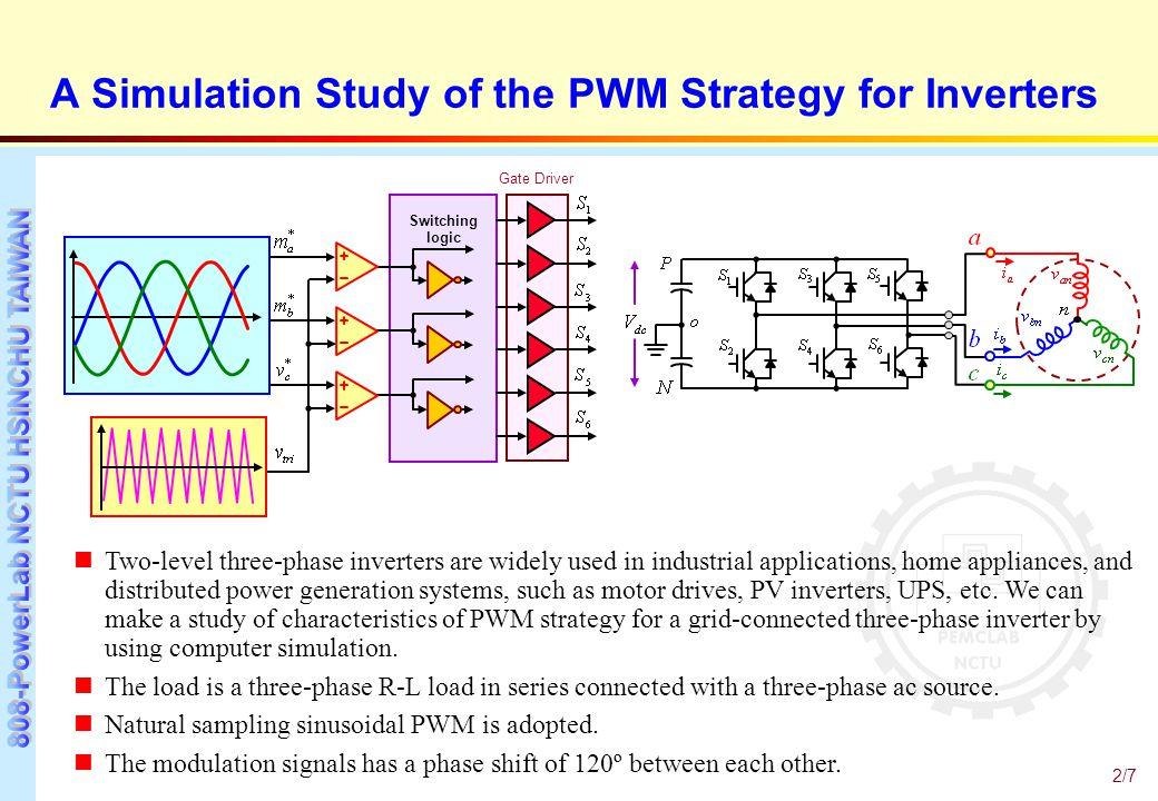 Sinusoidal pwm inverter ppt