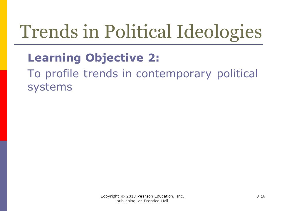 Trends in Political Ideologies