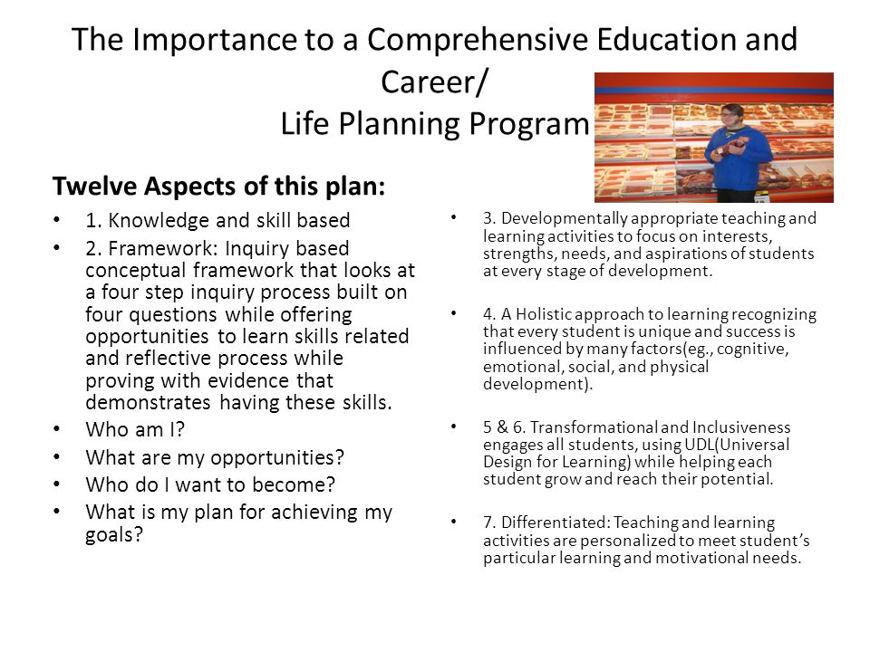 the importance of planning in education