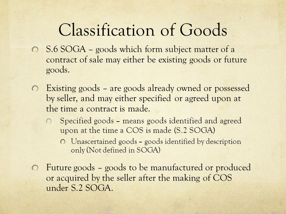 Commercial Law Sale Of Goods Ppt Download
