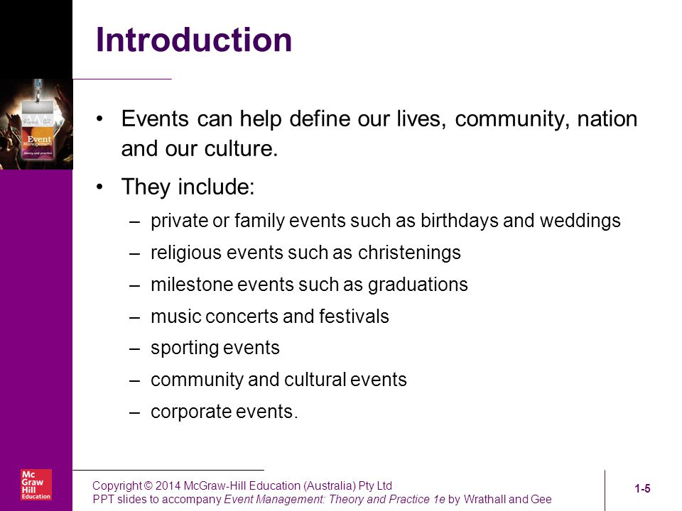 Ppt notes on event management powerpoint presentation id:4848816.
