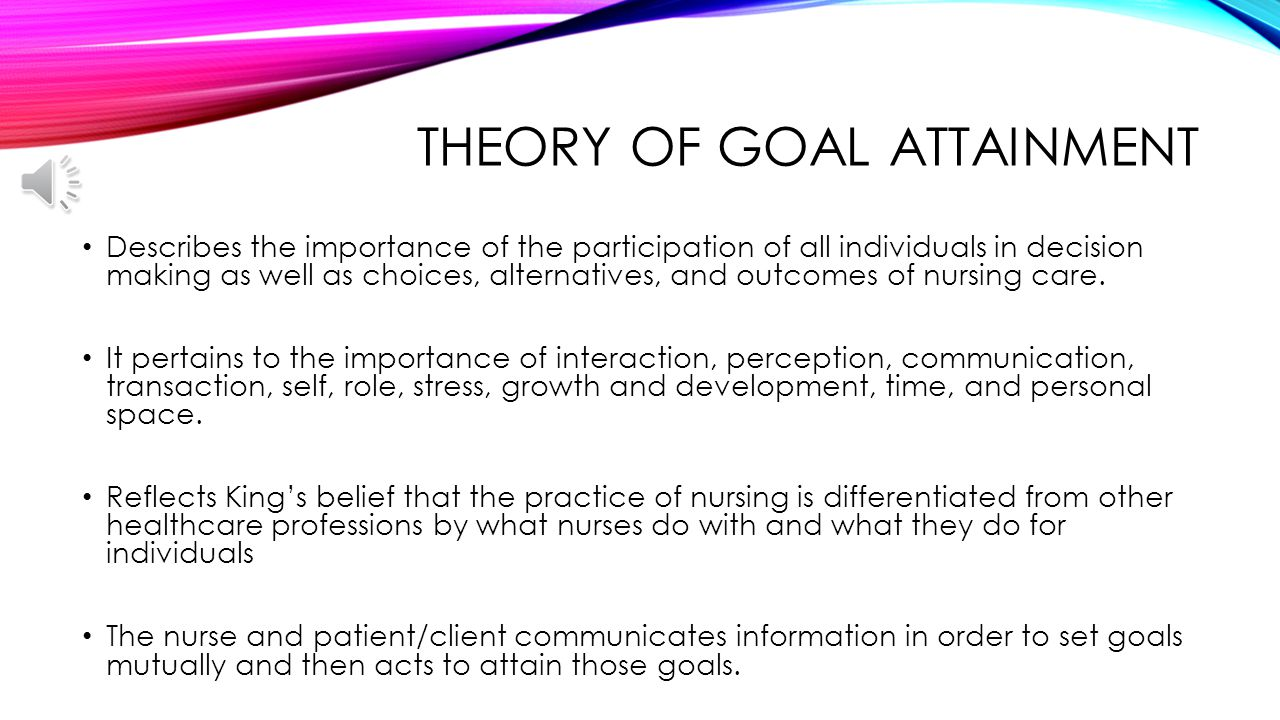attainment theory