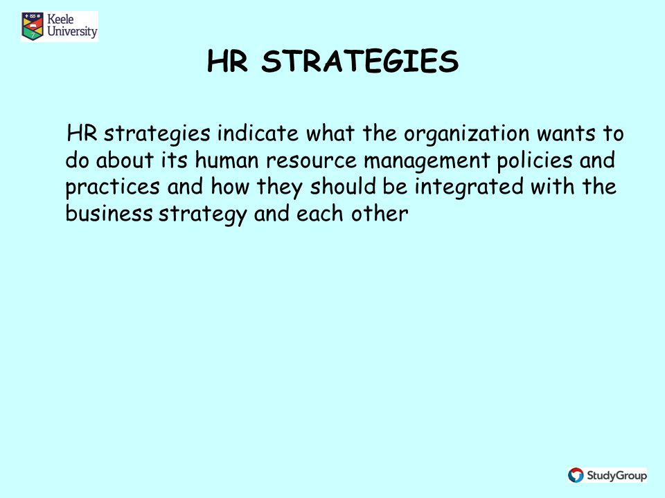 purpose of hr policies