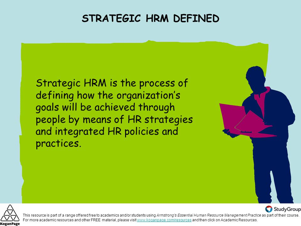 strategic human resource management ppt video online downloadstrategic hrm defined