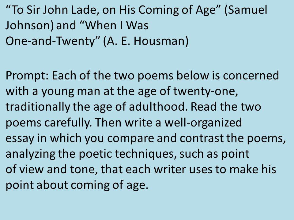 Ageism essay