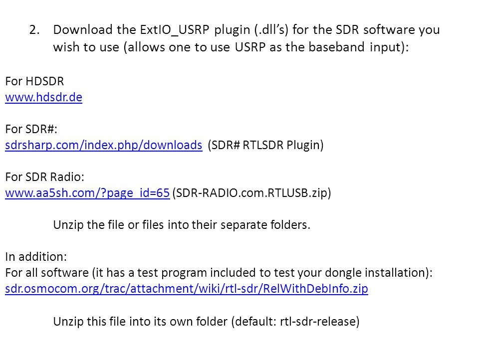SDR – Software Defined Radio - ppt download