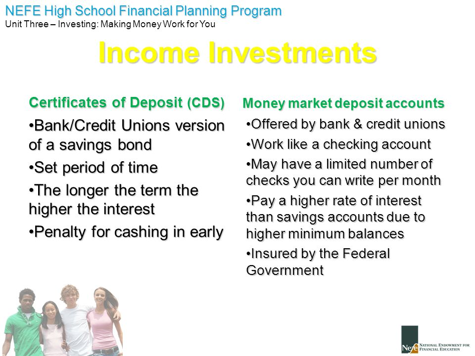 Unit 3 Investing Making Money Work For You Ppt Download