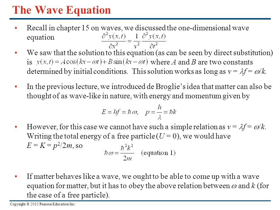 Chapter 40 Quantum Mechanics  - ppt video online download