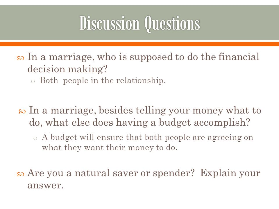 Chapter 10: Money and Relationships - ppt download