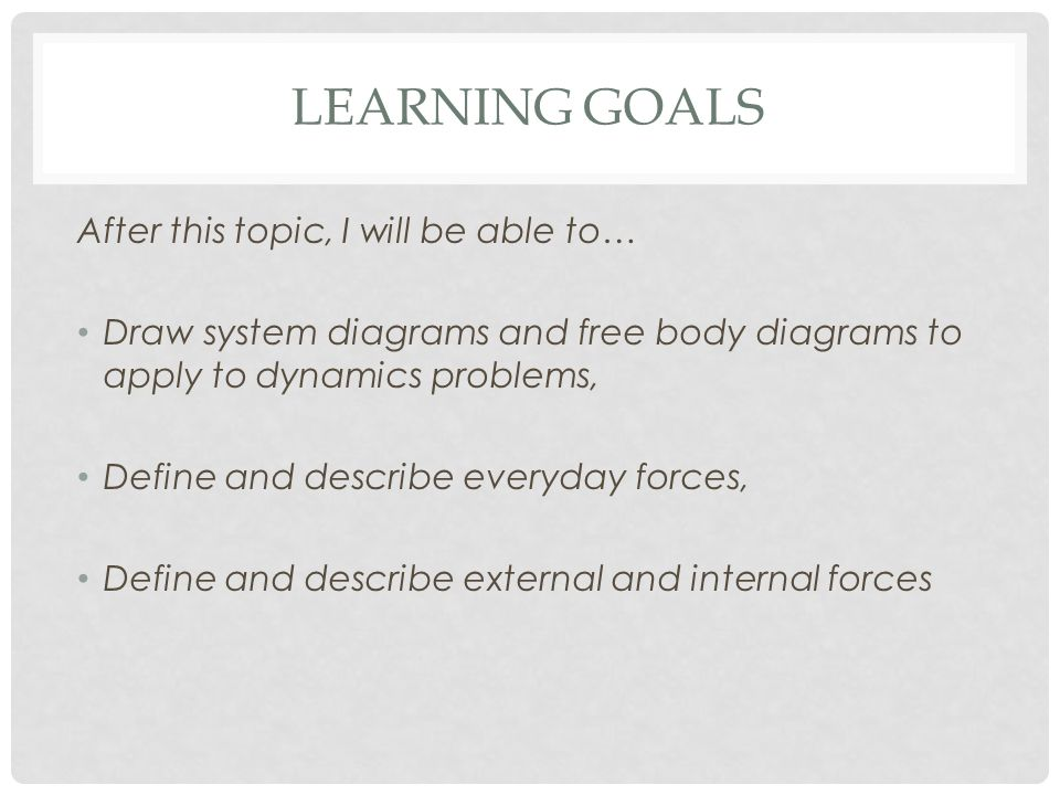 Everyday Forces And Free Body Diagrams Ppt Download