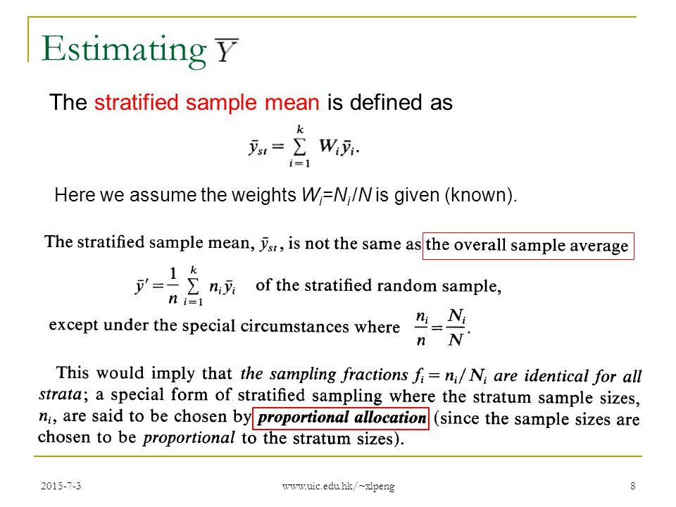 34. 3 stratified random sampling | stat 482.