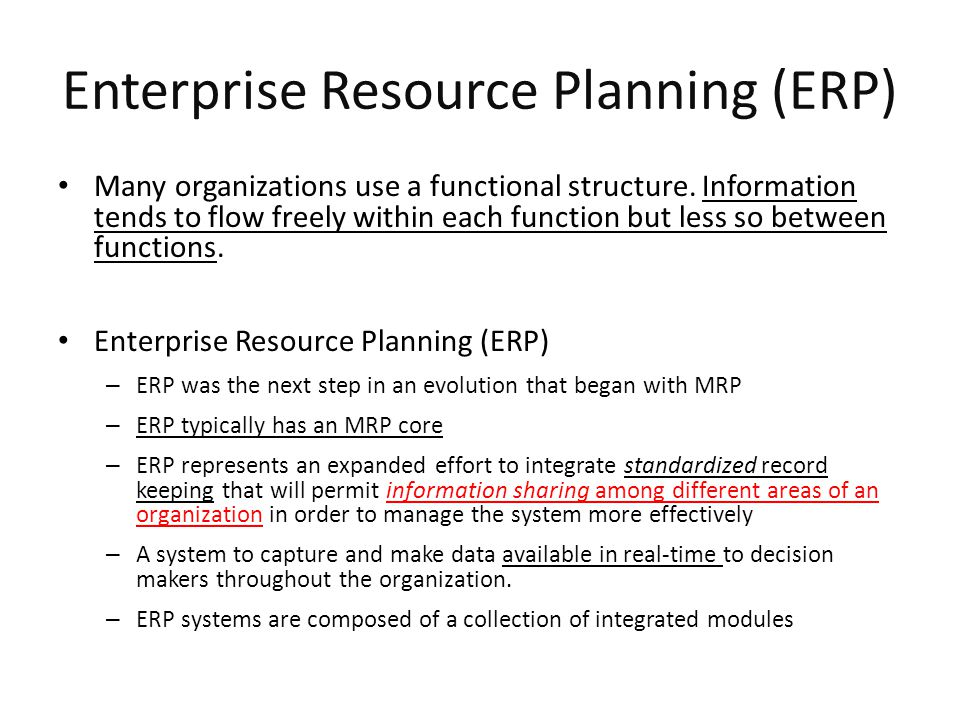 Material requirements planning (mrp) and erp ppt download.