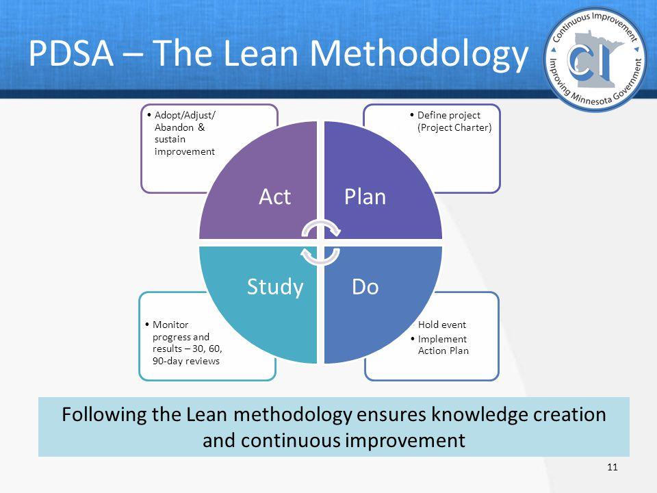 define measure plan check act adjust sustain pdf