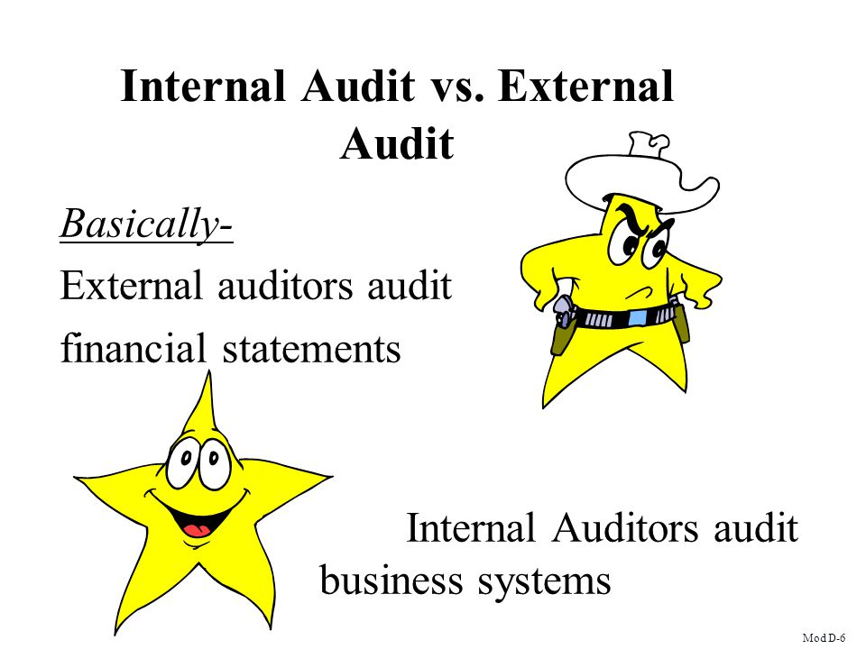 Internal Audit vs. External Audit
