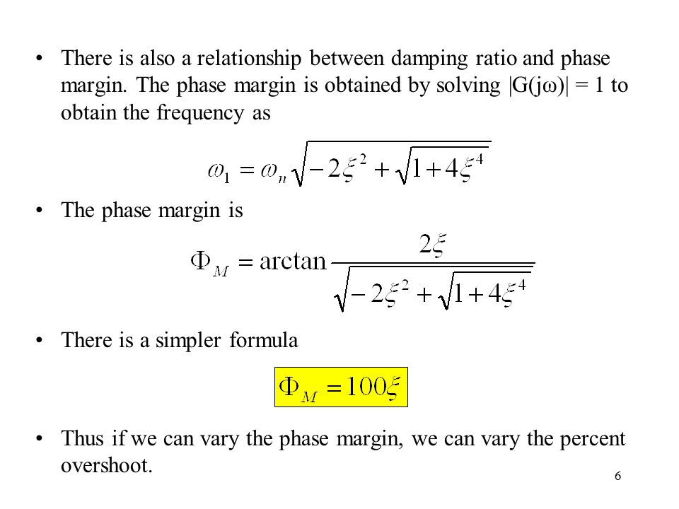 Lecture 9 Compensator Design In Frequency Domain Ppt Download