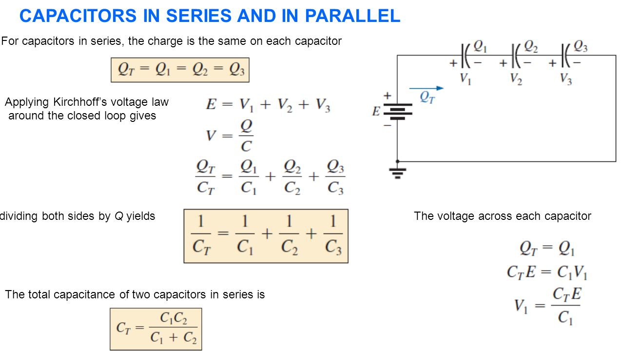 Series And Parallel Circuit Powerpoint Ask Answer Wiring Diagram Voltage In Circuits Capacitors Total Capacitance 28 Images Determine Equivalent Esr Ripple Presentation