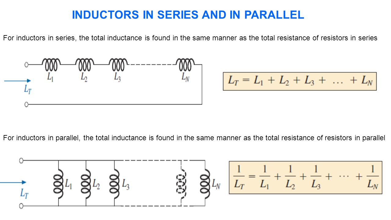 Capacitor And Inductor Ppt Video Online Download Resistance Rl Find Thevenin Equivalent Circuit For The Following 25 Inductors