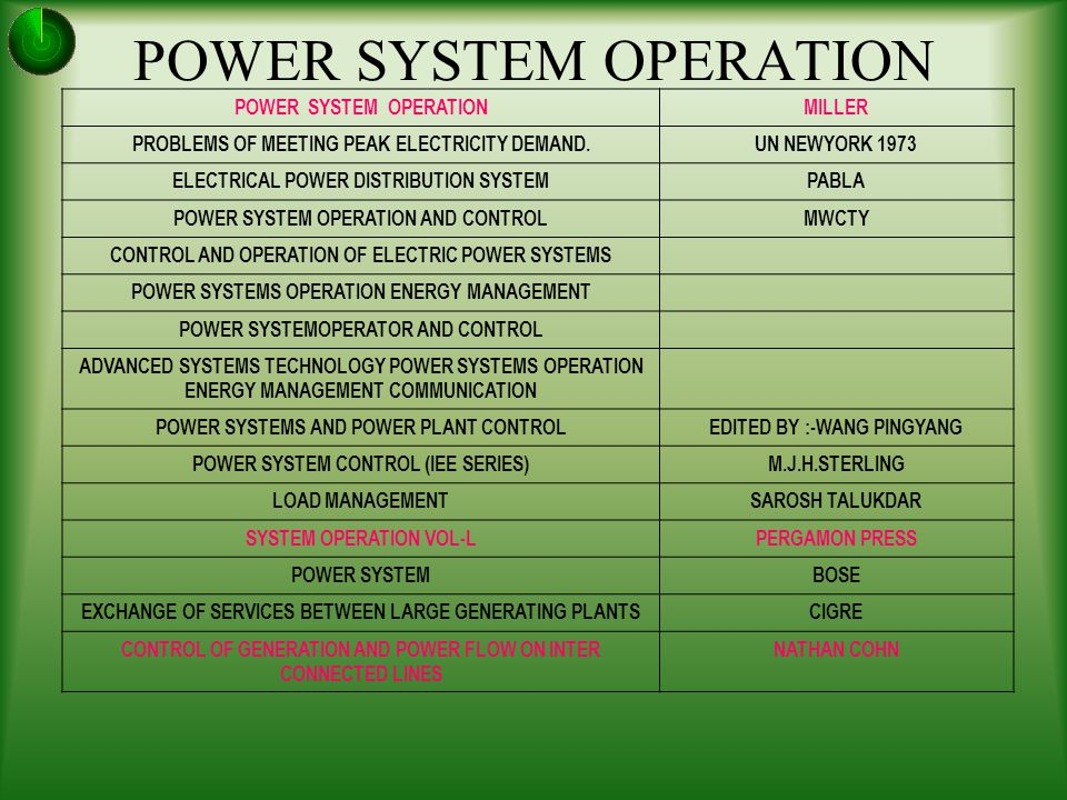 LEARNING POWER SYSTEMS BEYOND CLASS AND CONTROL ROOM - ppt