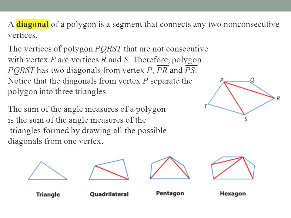 Section 6 1 Angles of Polygons - ppt download
