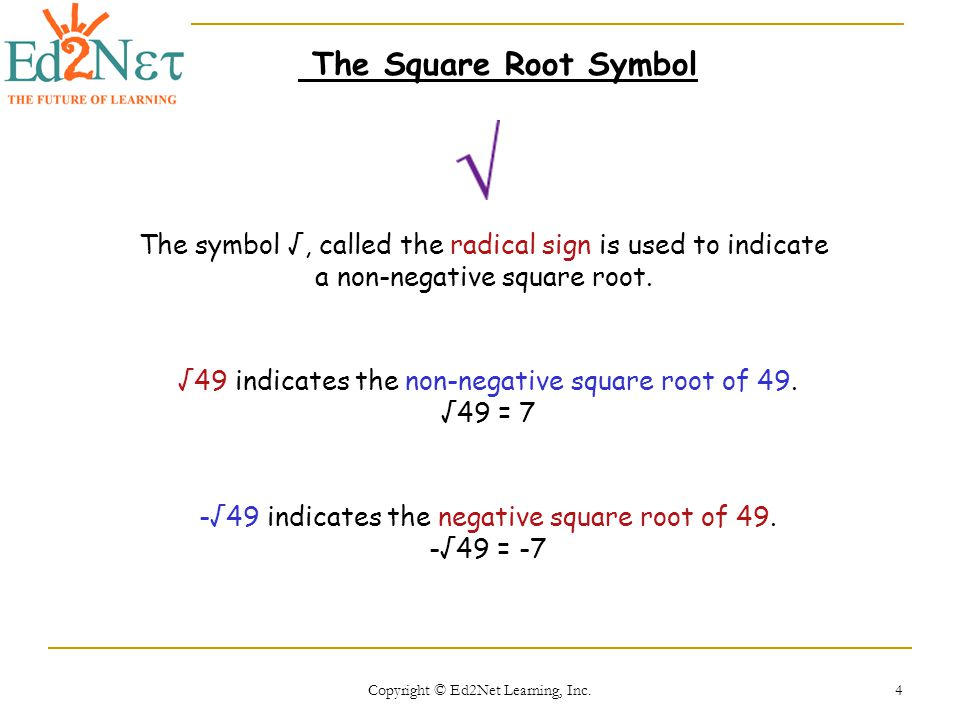 Square Root Symbol Name Gallery Meaning Of This Symbol