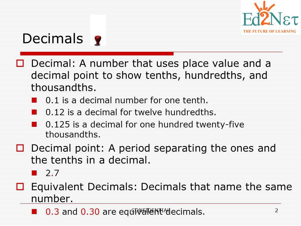 Adding & Subtracting Decimals - ppt video online download