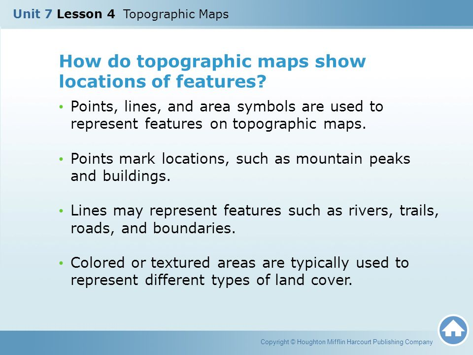 What Do Topographic Maps Show What Does Topographic Map Show
