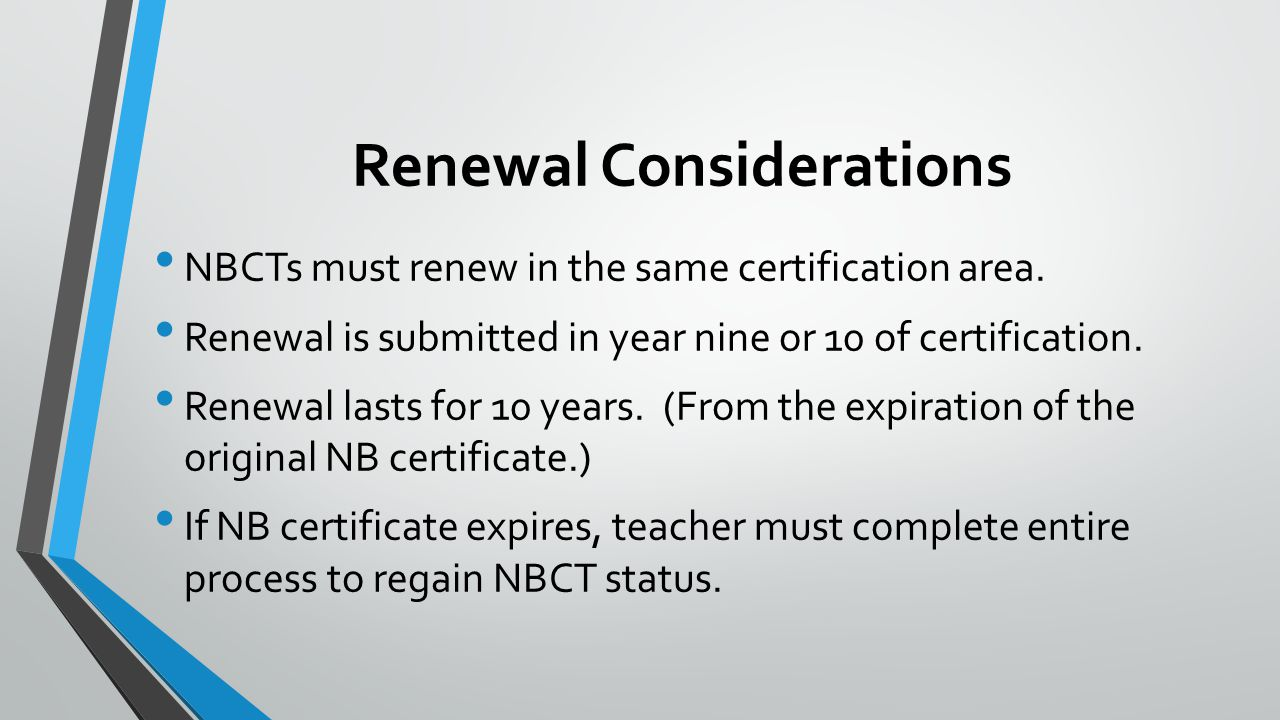 Keep Calm & Renew National Board - ppt video online download