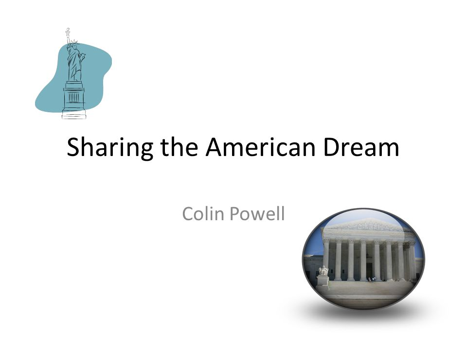 Sharing the American Dream