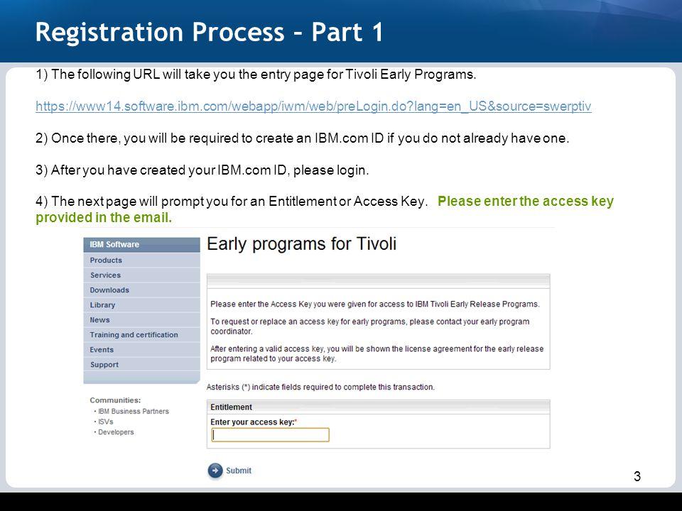 TRIRIGA Anywhere 10 4 Beta Registration Steps - ppt video