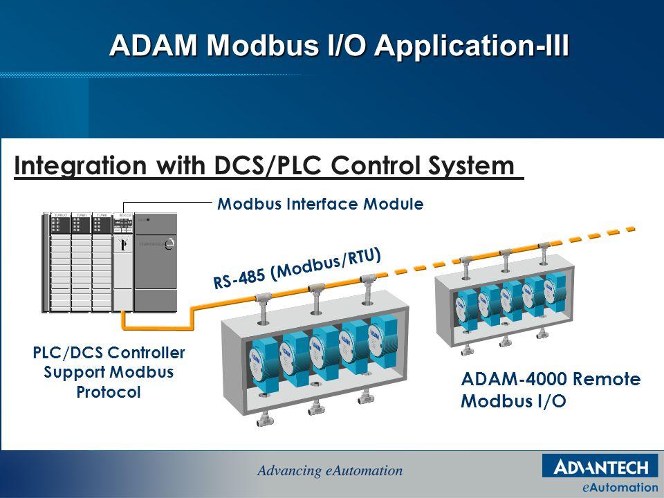 ADAM-4000 Modbus I/O Applications & Channels - ppt video