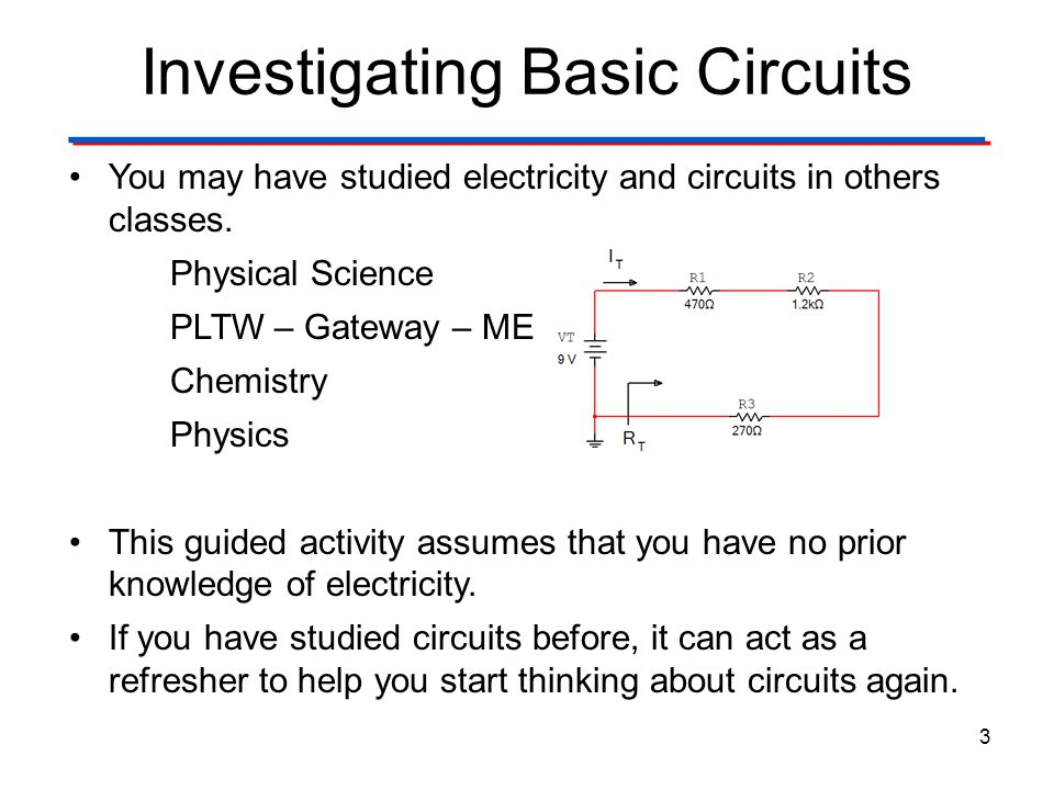 Investigating Basic Circuits Pre-Activity Discussion - ppt video ...