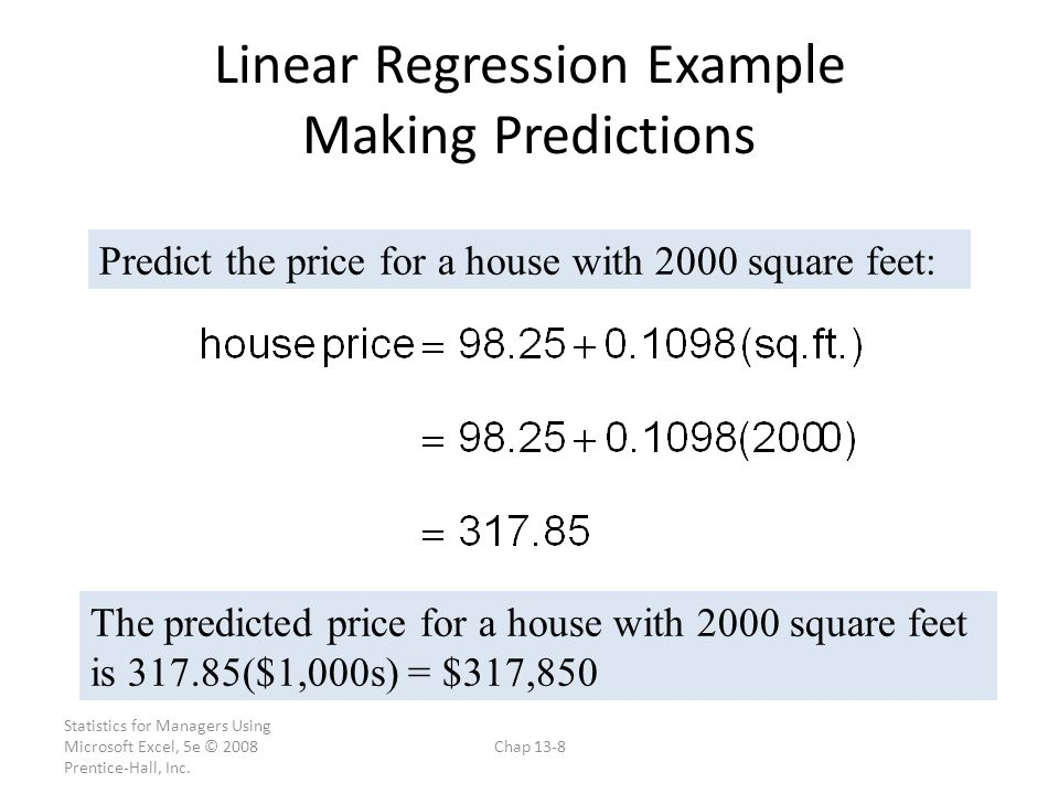 Linear Regression Example Data - ppt video online download
