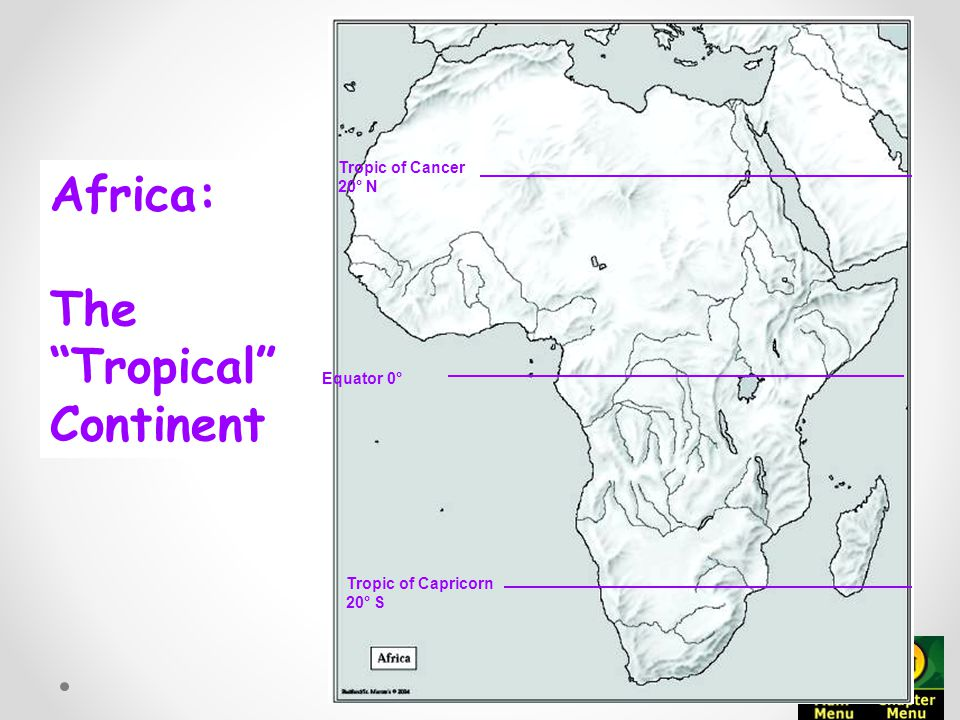 Map Of Africa With Equator.Geography Of Africa Ppt Video Online Download