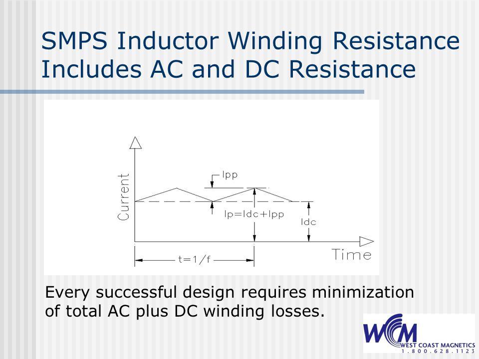 Foil Windings in Power Inductors: Methods of Reducing AC