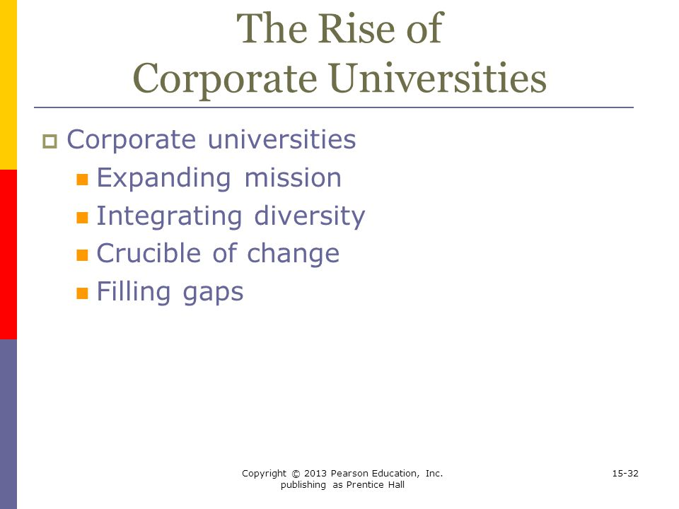 The Rise of Corporate Universities