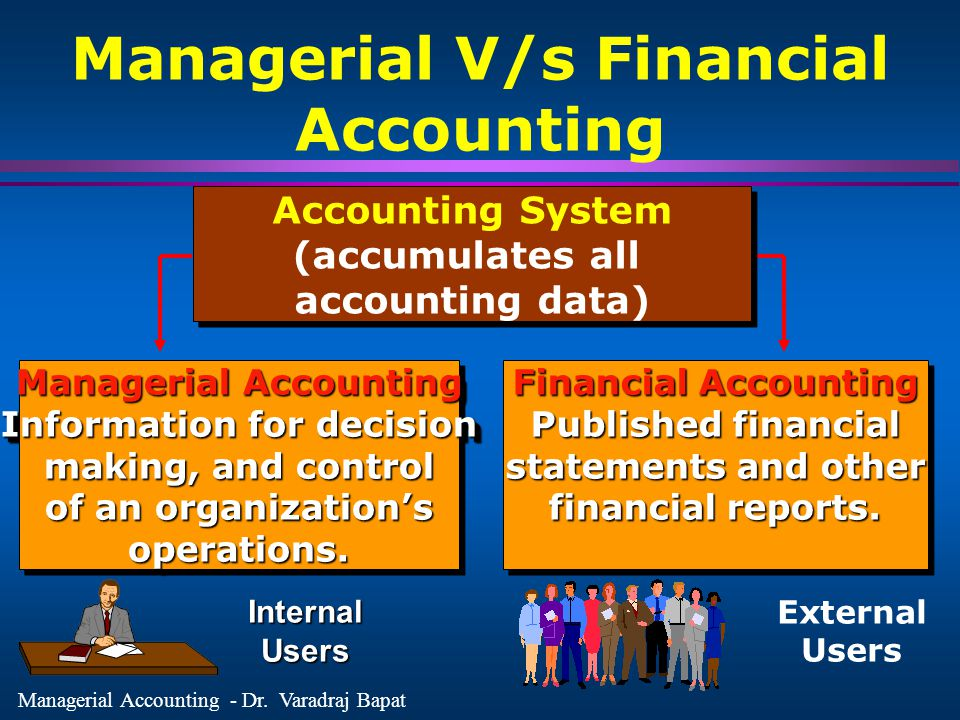 Managerial V/s Financial Accounting