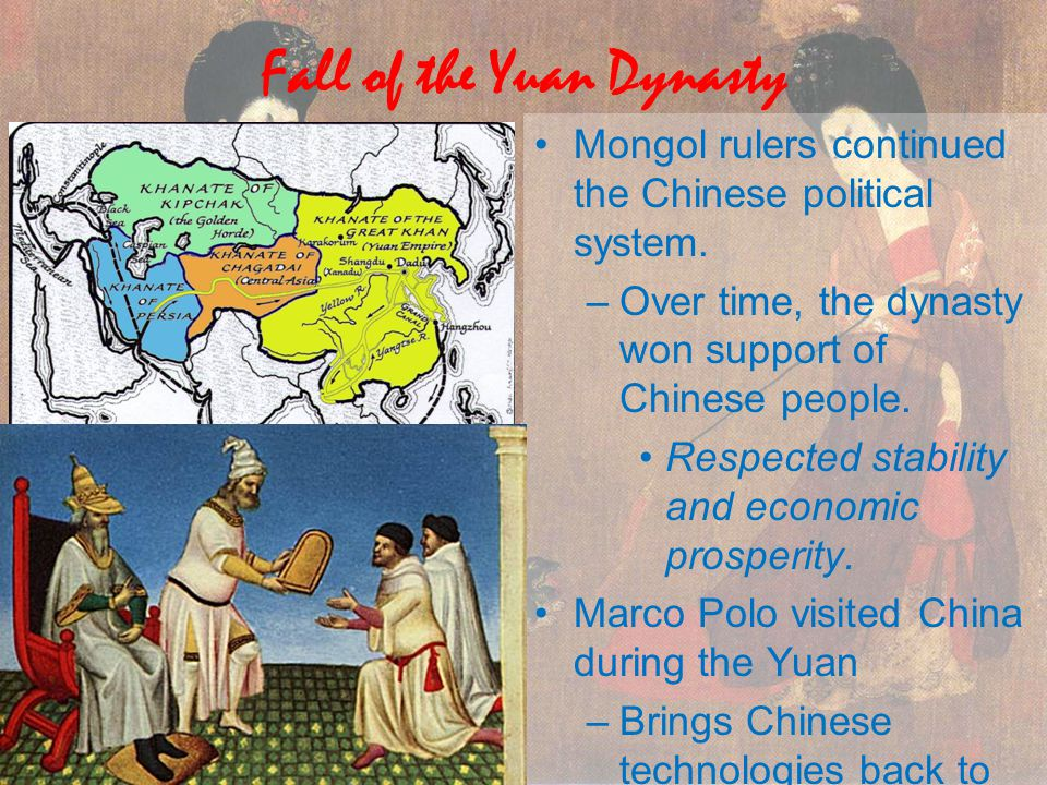 Fall of the Yuan Dynasty