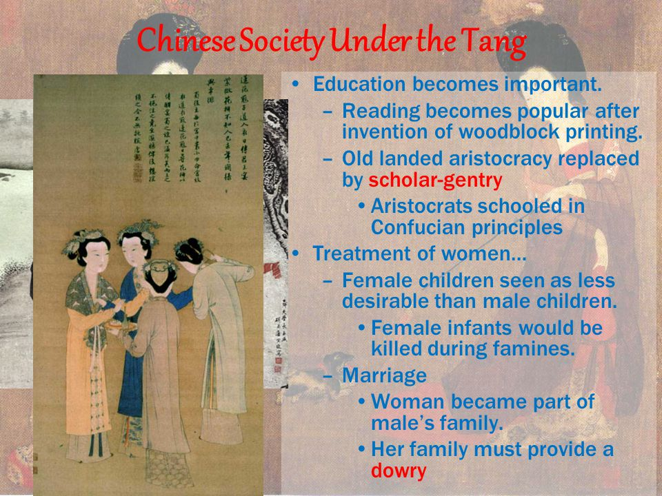 Chinese Society Under the Tang