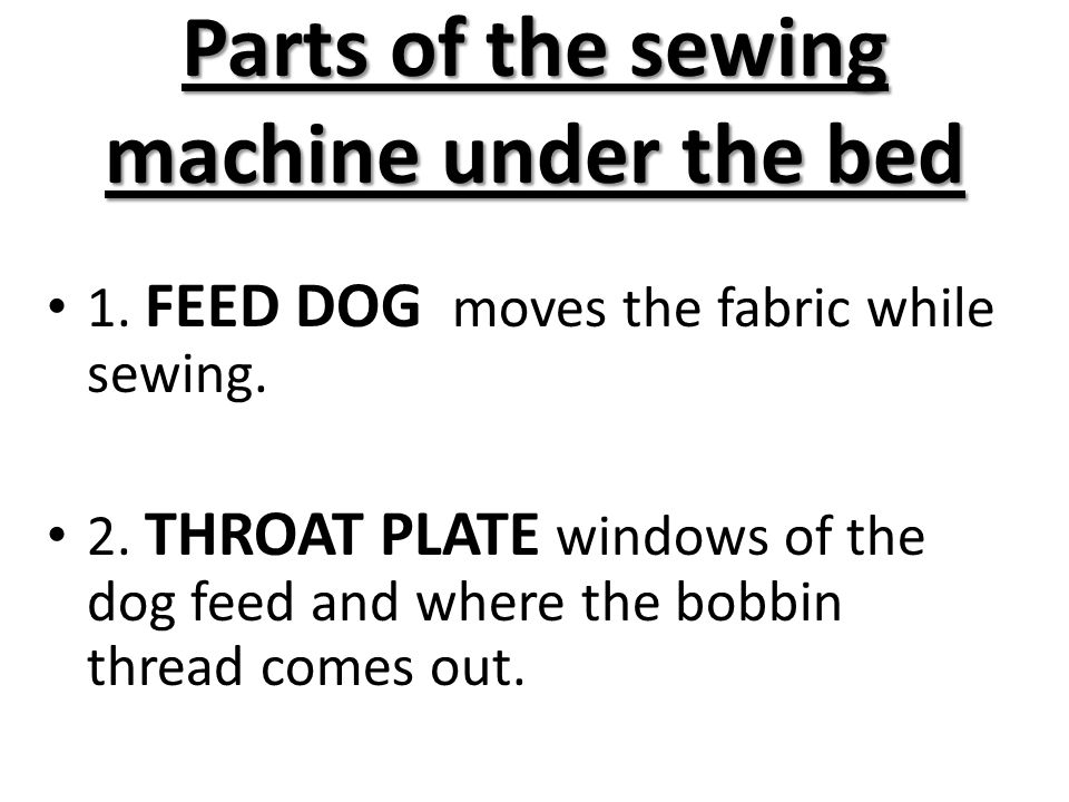 The Sewing Machine Ppt Video Online Download Mesmerizing Lower Parts Of Sewing Machine And Their Functions