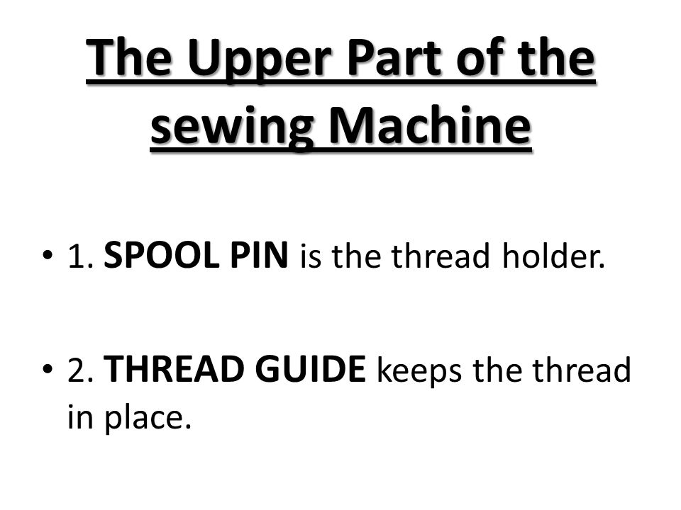 The Sewing Machine Ppt Video Online Download Best Lower Parts Of Sewing Machine And Their Functions