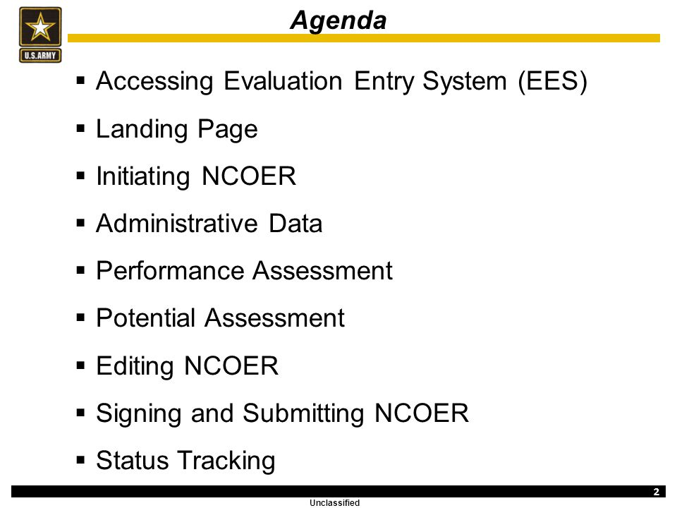 Evaluation Entry System Overview NCOER (SGT) - ppt video
